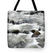 Mountain Stream Smokies Tote Bag by Rich Franco