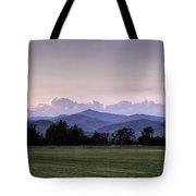 Mountain Sunset - North Carolina Landscape Tote Bag