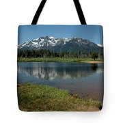 Mountain Tallac Dive In Tote Bag