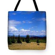 Mountain Top Landscape II Tote Bag