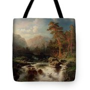 Mountain Torrent Smaland Tote Bag