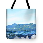 Mountain Waves Tote Bag