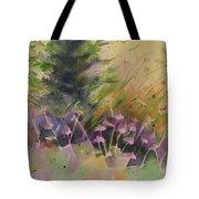Mountain Wildflowers Tote Bag