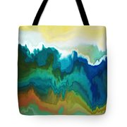 Mountainous Tote Bag