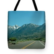 Mountains Ahead Tote Bag