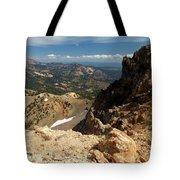 Mountains At Lassen Tote Bag