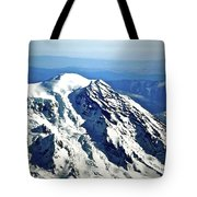 Mountaintop Of Our Desires Tote Bag
