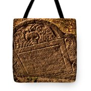 Mountfort - Granary Burying Ground - Greeting Card Tote Bag