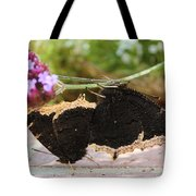 Mourning Cloak Butterfly Lovin' Tote Bag