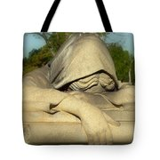 Mourning Woman Tote Bag