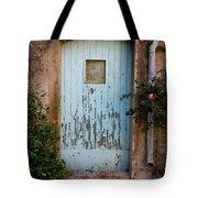 Mouse Door Tote Bag