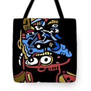 Mouthful Full Color Tote Bag