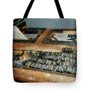 Movable Type Tote Bag