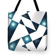 Moveonart Abstractchristmas Tote Bag