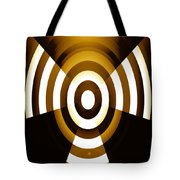 Moveonart Abstractguardianangelinyellow Tote Bag