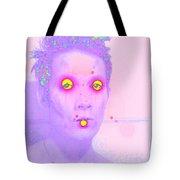 Moveonart Alienhere Tote Bag