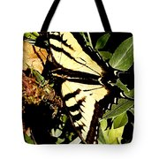 Moveonart Yellowbutterflyfriend Tote Bag