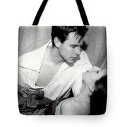 Movie Kiss Tote Bag