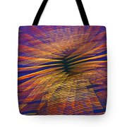 Moving Abstract Lights Tote Bag