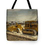 Moving The Earth Tote Bag