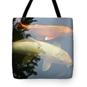 Mr And Mrs Koi Tote Bag