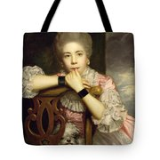 Mrs Abington As Miss Prue In Congreve's 'love For Love'  Tote Bag by Sir Joshua Reynolds