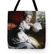 Mrs Clark Gayton Tote Bag by John Singleton Copley