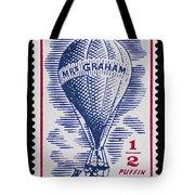 Mrs Graham The Balloonist Tote Bag