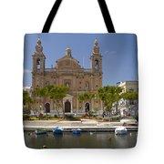 Msida Church Tote Bag