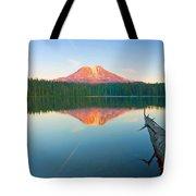 Mt. Adams Alpenglow Tote Bag
