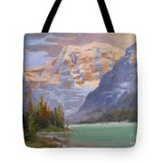 Mt Edith Cavell Jasper Tote Bag