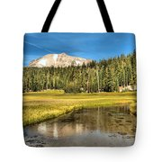 Mt Lassen Reflections Tote Bag