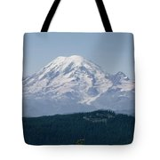 Mt. Rainier Seen From The Yakima Valley Tote Bag