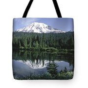 Mt. Ranier Reflection Tote Bag