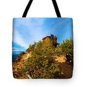 Mt Scott Fire Tower Tote Bag