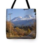 Mt Shasta Autumn Tote Bag