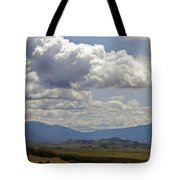 Mt Shasta On A Showery Spring Day Tote Bag