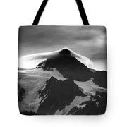 Mt Shuksan Monochrome Tote Bag