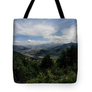Mt St Helens Lookout Tote Bag