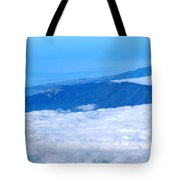 Mt Tamalpais From The Air Tote Bag