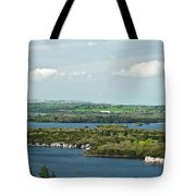 Muckross Lake From Atop Torc Waterfall 2 Tote Bag