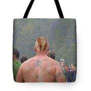 Mud Everywhere At The Mudder Tote Bag