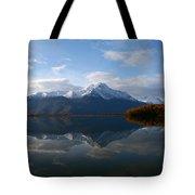 Mud Lake Reflection Tote Bag