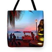 Mujer Del Mar Tote Bag