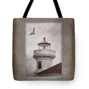 Mukilteo Light Washington Tote Bag by Carol Leigh