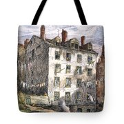 Mulberry Street, Nyc, 1873 Tote Bag