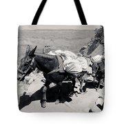 Mule Train Bw Tote Bag