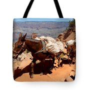Mule Train Tote Bag