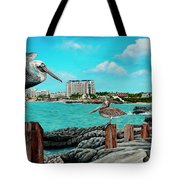 Mullet Bay Tote Bag