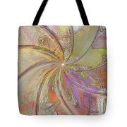 Multi Colored Pinwheel Tote Bag